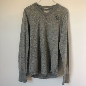 Abercrombie & Fitch V neck Muscle Sweater